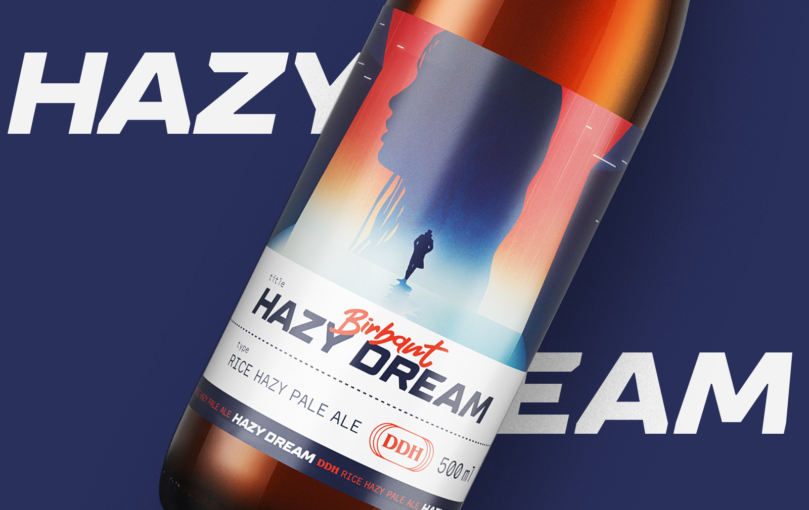 HAZY DREAM Rice Hazy Pale Ale