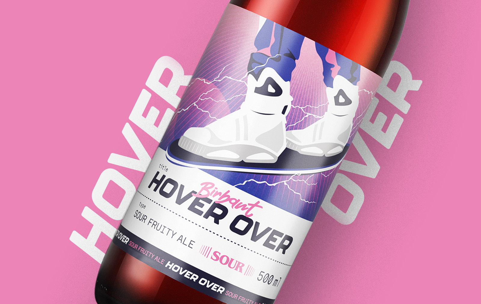 HOVER OVER Porzeczkowe Sour Ale
